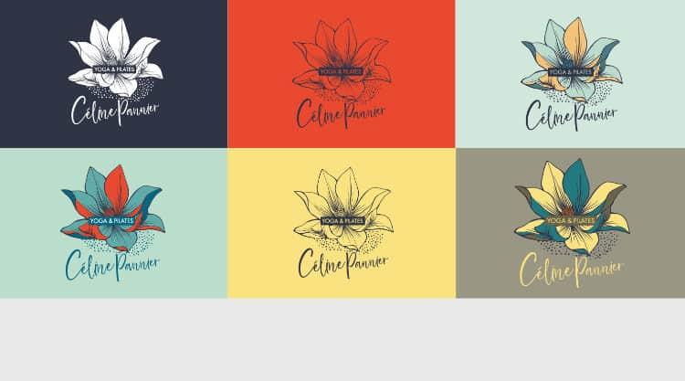 Logo Celine-pannier - @alice reveilliez - graphiste caen