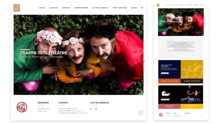 FTT-Cie - @alice-reveilliez - Création du site internet Caen